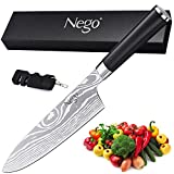 Nego Cooking Knife, German High Carbon Stainless Steel Razor Sharp Blade Stain Resistant, Best Choice for Restaurant and Home Kitchen