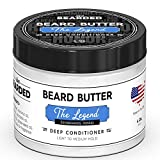 Beard Butter | Live Bearded Made in USA | All Natural Beard Butter (Sandalwood, Vanilla - The Legend)