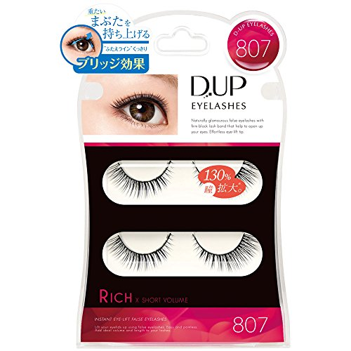 D.U.P Eyelashes RICH 807 [Badartikel]