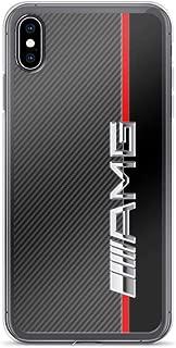 iPhone 6 Plus/6s Plus Pure Clear Case Cases Cover Mercedes Benz amg Logo Carbon