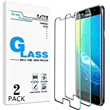 [2-Pack] KATIN For Samsung Galaxy S7 Tempered Glass Screen Protector No-Bubble, 9H Hardness, Easy to Install