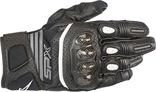 Alpinestars Stella SP X Air Carbon V2 Damen Motorradhandschuhe Schwarz XL