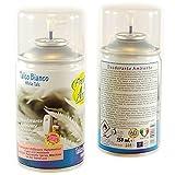 Talco Bianco Deodorante Ambiente 250 ml Ricarica Diffusore Automatico