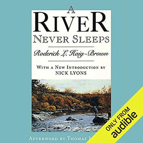 A River Never Sleeps audiobook cover art