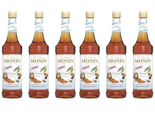 Monin Sirup Caramel Light, 0,7L 6er Pack