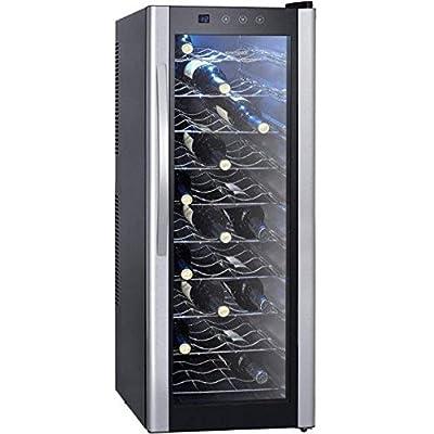 Syntrox Germany Chef Kühler Wine Cooler Refrigerator for 30 Bottles