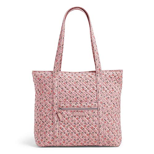 Vera Bradley Signature Cotton Vera Tote Bag, Sweethearts and Flowers