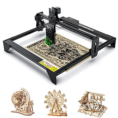 ATOMSTACK A5 20W Laser Engraver, CNC Diode Laser Engraving, Cutting DIY Machine for Wood, Metal, Jewerlry LaserGRBL LightBurn Campatitable, 410 X400mm Large Working Space