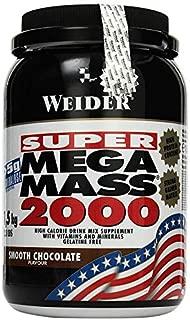 Weider Mega Mass 2000 - 1,5 kg de chocolate