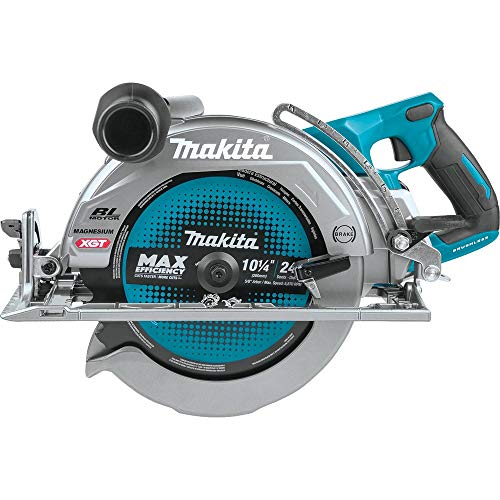 Makita GSR02Z 40V Max XGT Brushless Lithium-Ion 10-1/4 in. Cordless Rear Handle AWS Capable Circular Saw (Tool Only)