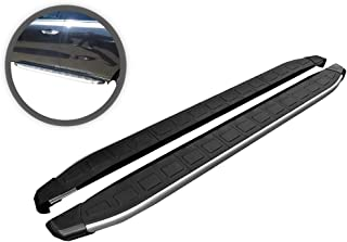 VGSSB-1093-1096AL Black Multi-fit F3 Style Running Boards