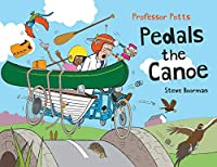 Professor Potts Pedals the Canoe