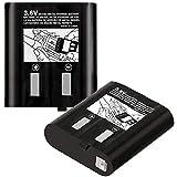 TOOGOO 2 Packs 700 Mah Batería para Kebt-071-D Kebt-071-C Kebt-071-B Kebt-071-A 53615