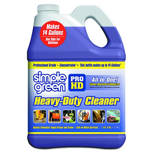 Simple Green SMP13421CT Pro HD Heavy Duty Cleaner, 1 gal Bottle, SMP13421 (Pack of 4)
