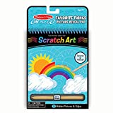 Melissa & Doug On the Go Scratch Art Hidden-Picture Pad - Favorite Things (Great Gift for Girls and Boys - Best for 5, 6, 7, 8, 9 Year Olds and Up)