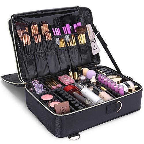 Lifewit Kosmetikkoffer Make Up Tasche Schminkkoffer Professionelle Kosmetiktasche Beauty Case...