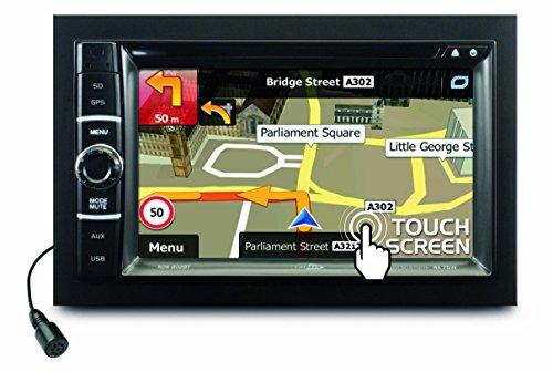 Caliber RDN802BT 6.2inch LCD touchscreen zwart navigatiesysteem - navigatiesystemen (15,8 cm (6.2 inch), 800 x 480 pixels, LCD, geheugenkaart, microSD-kaart 32 GB)