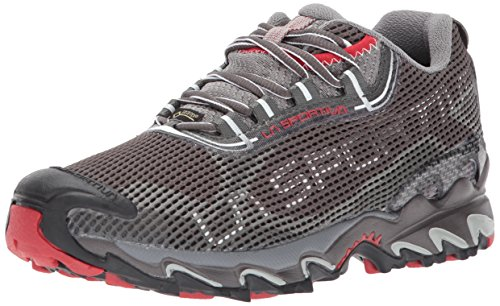 La Sportiva Women's Wildcat 2.0 GTX-W, Grey/Red, 41.5 EU/9.5-10 M US
