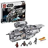 LEGO 75292 Star Wars The Mandalorian The Razor Crest Nave Espacial del Cazarrecompensas Juguete con Figurita del Niño