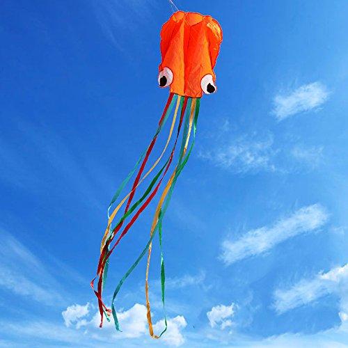 GGG 4M Ligne simple Stunt multi-couleurs Jeu de Plein Air cerf-volants Prêt à voler Outdoor Sport Jouets Nouveau - Orange couleur
