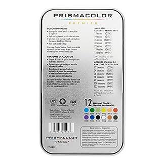 اسعار Prismacolor 3596T Premier Colored Pencils, Soft Core, 12 Count