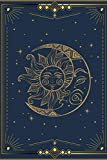 Witch Journal: Witchy Stuff Blank Lined Notebook With A Vintage Moon And Stars Design Makes A Great Sage Wicca Gift