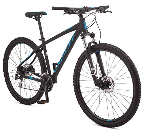 Schwinn Moab 3 Adult Mountain Bike, Mens Small Aluminum Frame, 24 Speeds, 29-Inch Wheels, Hydraulic Disc Brakes, Black