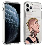 StarShopping iPhone 11 Pro Clear Case Custom Hip Hop Design Shock Absorbent Transparent - Lil Peep