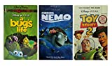 A Bug's Life + Finding Nemo + Toy Story 2 (with Bonus Puzzle) VHS