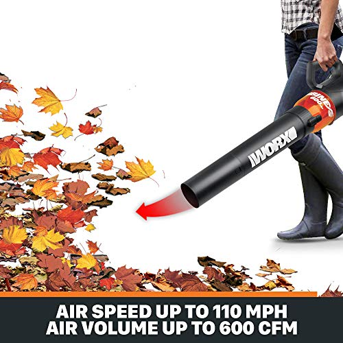 WORX WG520 Turbine 600 Electric Leaf Blower