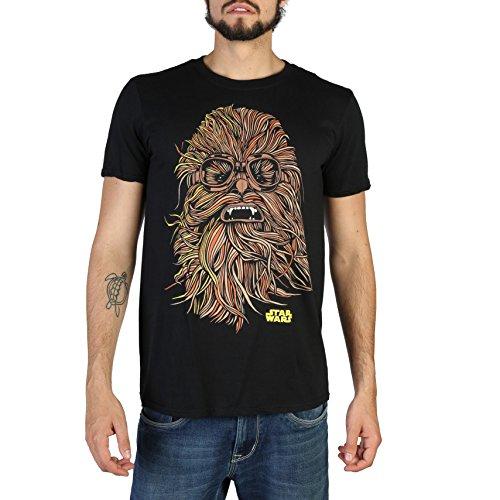 Star Wars Han Solo-Chewie Goggles T-Shirt, Noir (Black BLK), XXL Homme