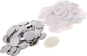 Neu 58mm Profi Buttonmaschine Badgemaker Satz mit 500pcs Buttonrohlinge Buttons