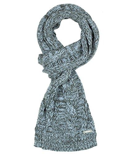 Bench Herren Mütze, Schal & Handschuh-Set Strickschal Harding mehrfarbig (Dusty Blue) One Size