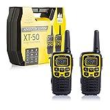 Midland C1178.01 Radio PMR, Noir, Jaune, H 103 x l 54 x P 33 mm
