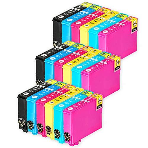 Go Inks Compatible Cartuchos de Tinta para reemplazar Epson T0807 Serie Non-OEM *Nueva versión* (18 Tintas)