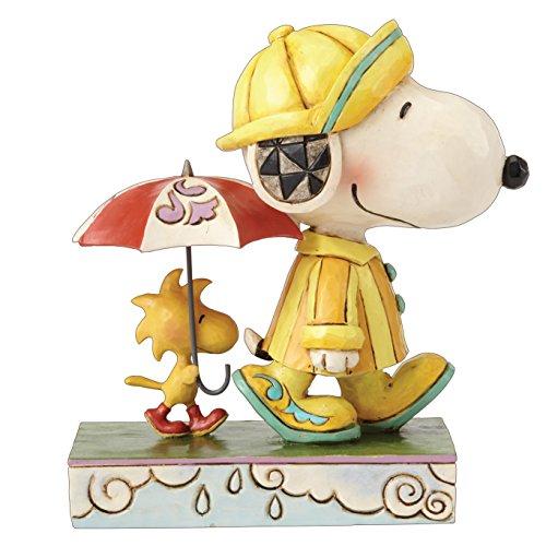 Disney Traditions Friends Through Rain Or Shine (Snoopy & Woodstock)