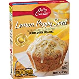 With a Pouch of Lemon Glaze From box to over in less than 5 minutes Just add oil, water, and eggs. The Red Spoon is my promise of great taste, quailty, and convenience. This is a product you and your family will enjoy. I guarantee it. - Betty Crocker
