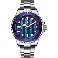 Airtdon Japanese-Quartz Water Proof 10ATM Diving Casual Business Watch for Men