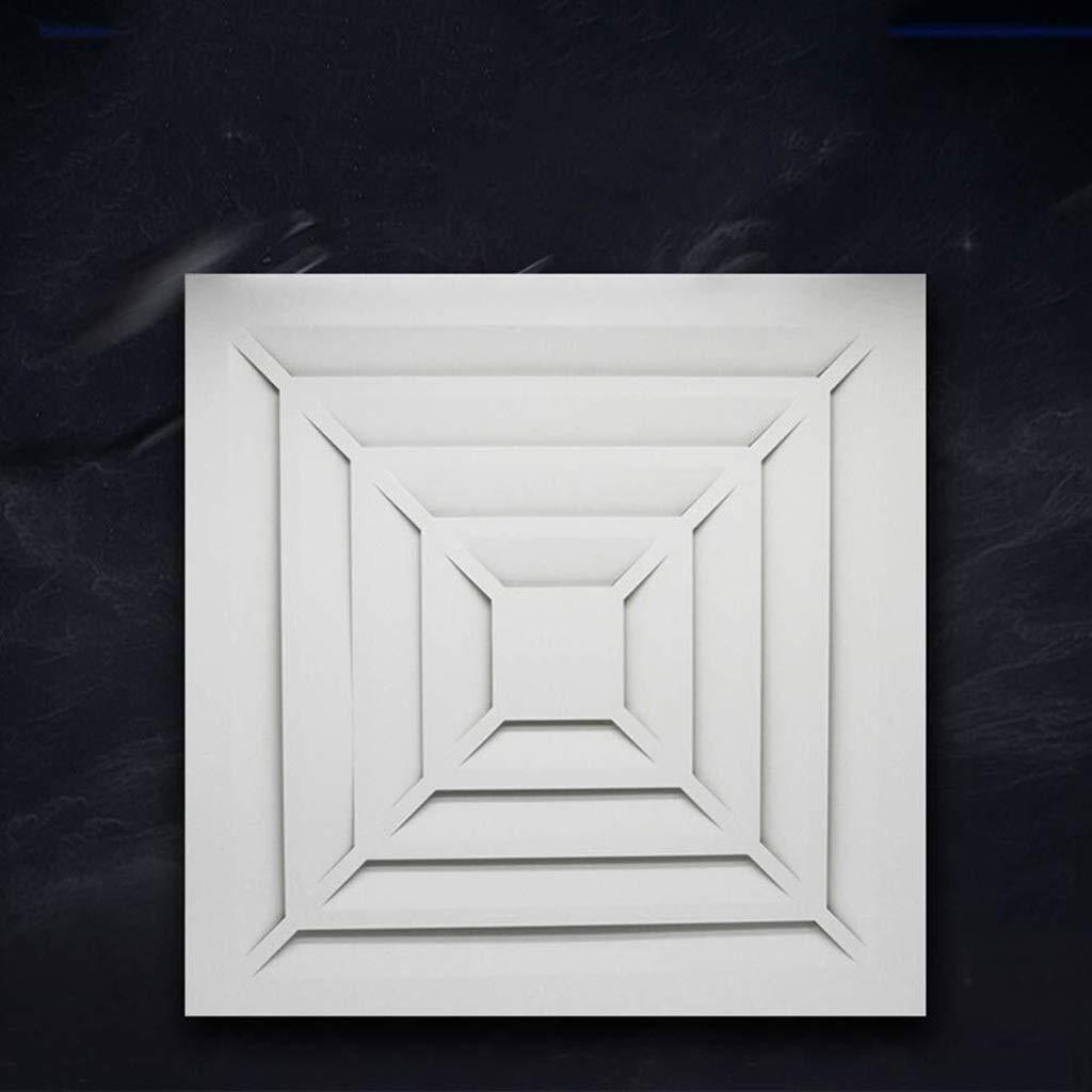 Ventilación De Techo Integrado Potente Ventilador De Techo De Escape WC Tubo De Escape Silencioso Ventilador De 45 × 45 Cm ZHAOSHUNLI 1129: Amazon.es: Hogar