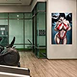 WKAQM Sexy Muro Arte Pittura Nudo Donne Muro Immagini Adulti Anime Poster Camera da Letto Arredamento Sexy Erotico Tela Arte Grande Seni Muro Stampe Bar Arredamento Senza Cornice TL-093