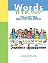 Words Their Way: Vocabulary for Elementary Mathematics (Words Their Way Series)