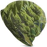 Leconte Creek y el Monte. Leconte - Parque Nacional de Las Grandes Montañas Humeantes Gorro de Punto Holgado Gorro Holgado Cráneo Turbante Invierno Verano Boina Sombrero Navidad