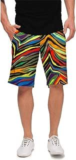 StretchTech Performance Poly - John Daly Fun Colorful Jungle Bogey Men's Short - Knee Length, 11
