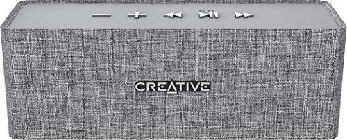 Creative - Altavoces Nuno Gris Bluetooth Manos Libres