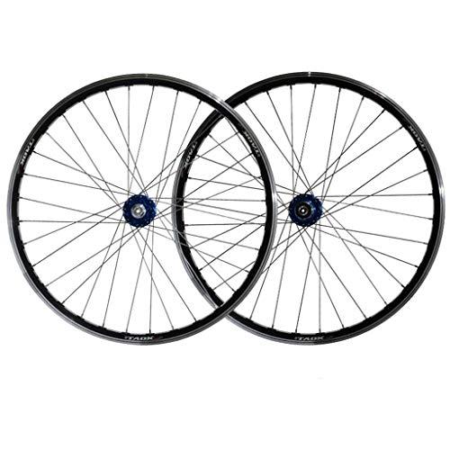 TYXTYX Rueda de Ciclismo MTB de 11 velocidades Juego de Ruedas de Bicicleta de 26 Pulgadas Llantas 559x19 Disco/Llantas Freno Rueda de Bicicleta de montaña Buje de rodamiento Sellado QR para vola