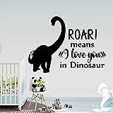 yaonuli Dibujos Animados Dinosaurio vivero Pegatinas de Pared calcomanías de Vinilo para Sala de Estar habitación para niños decoración del hogar 45X61 cm