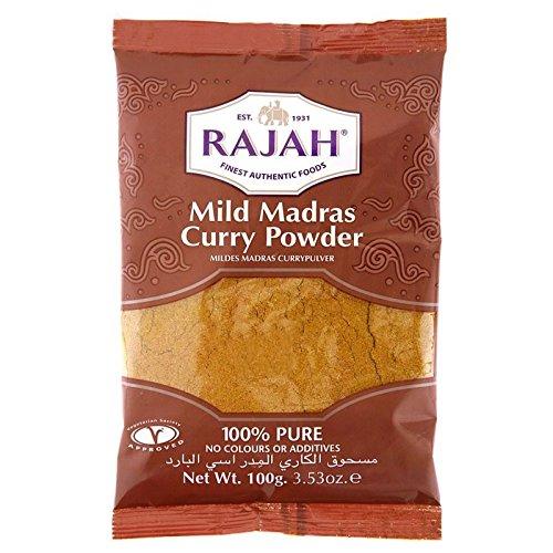 Rajah - Poudre de curry - moyennement épicée - 100 g