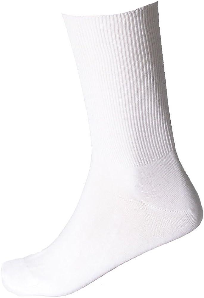 SOK Women's Thin Loose Cuff Socks - 2 Pairs - Non-binding Classic Summer Socks