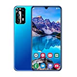 Teléfono móvil teléfono Inteligente teléfono móvil Android Desbloqueado Pantalla Completa de Gota de Agua 6.5 Pulgadas cámara de 13MP + 32MP teléfono móvil con Doble SIM 4800mAh