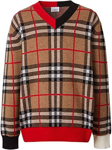 Luxury Fashion | Burberry Heren 8023664 Bruin Wol Truien | Lente-zomer 20